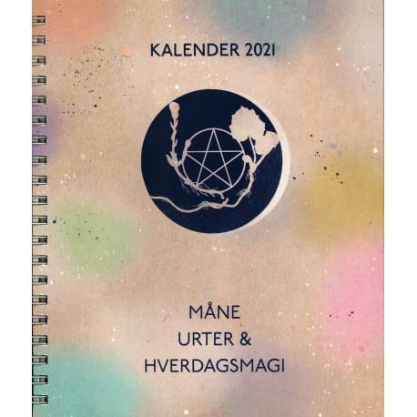 Måne, Urter & Hverdagsmagi - Kalender 2021