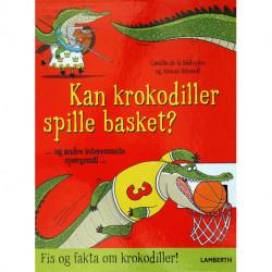 Kan krokodiller spille basket?