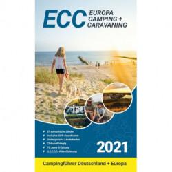 Europa Camping + Caravaning: Campingführer Deutschland/Europa 2021 (ECC)