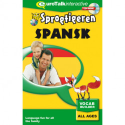 Spansk, kursus for børn CD-ROM