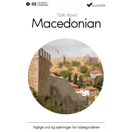 Makedonsk begynderkursus CD-ROM & download