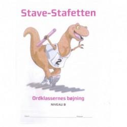 Stave-stafetten - Niveau B: ordklassernes bøjning (Bind 2)