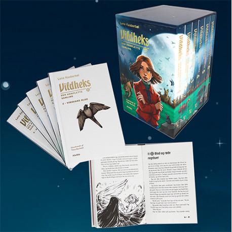Vildheks - Den komplette samling (illustreret) (bog 1-6 i kassette)