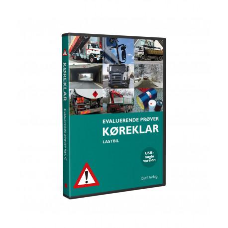 Køreklar - Evaluerende prøver - Lastbil - 12.udgave - USB: Køreklar - Evaluerende prøver - Kategori C - 12.udg. 2021 - USB-nøgle