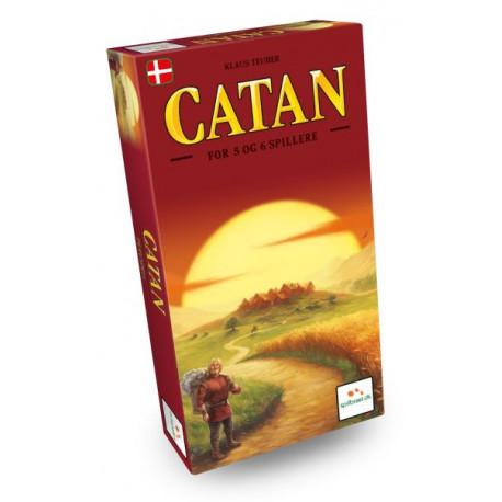 Catan: 5-6 spillere - Dansk