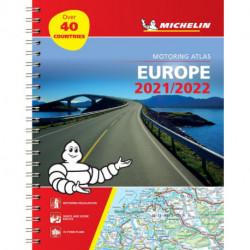 Michelin Tourist & Motoring Atlas Europe 2021/2022
