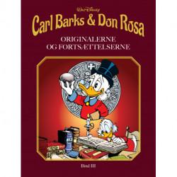 Carl Barks & Don Rosa Bind III: ORIGINALERNE OG FORTSÆTTELSERNE