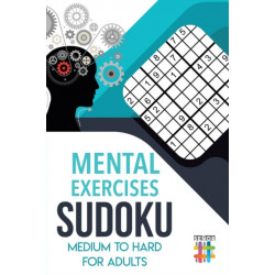 Mental Exercises Sudoku Medium to Hard for Adults