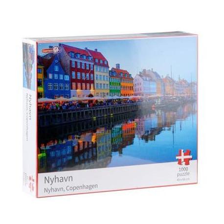 Puslespil Nyhavn - 1000 Brikker