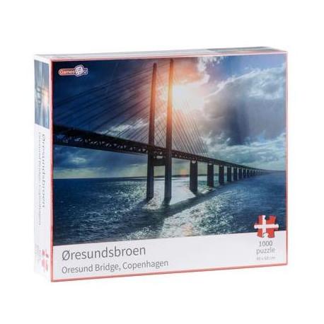 Puslespil Øresundsbroen  - 1000 brikker