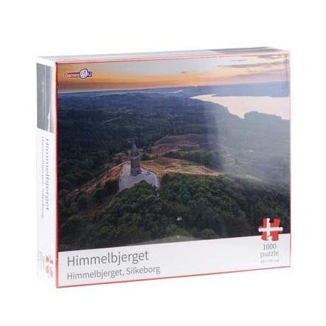 Puslespil Himmelbjerget - 1000 brikker