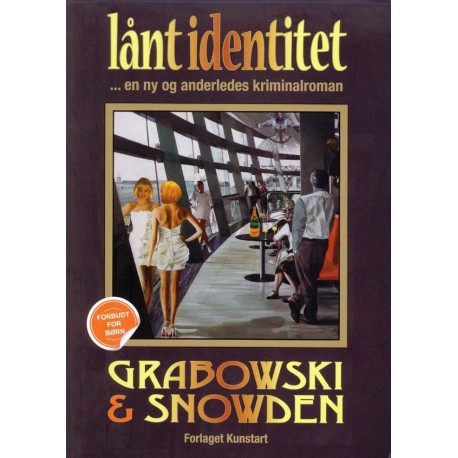 Lånt identitet: en ny og anderledes kriminalroman - [RODEKASSE/DEFEKT]