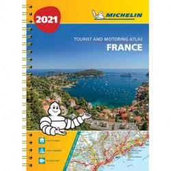 Michelin Tourist & Motoring Atlas France 2021
