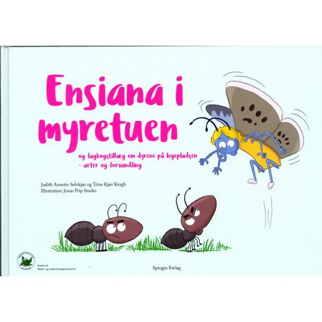 Ensiana i myretuen: og fagbogstillæg om dyrene på legepladsen - arter og forvandling