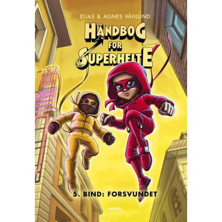 Håndbog for superhelte 5: Forsvundet