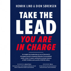 Take the lead – you are in charge