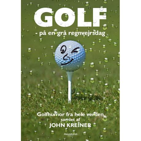 Golf: på en grå regnvejrsdag