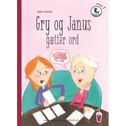Gry og Janus gætter ord