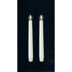 Kronelys (Nordic White - 2,3 x 23 CM)
