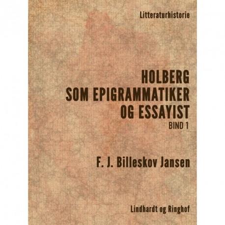 Holberg som Epigrammatiker og Essayist 1