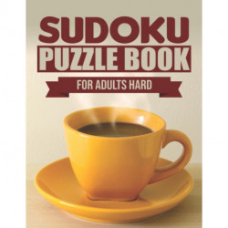 Sudoku puzzle book for adults hard: Sudoku puzzle books hard level 360 puzzles with solutions