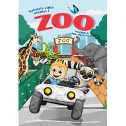 Gabriels vilde eventyr i Zoo: Med Kiki & ego-aben Arne