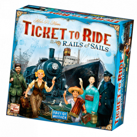 Ticket to Ride: Rails & Sails - Dansk