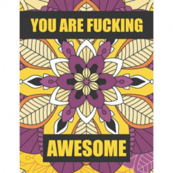 You are fucking awesome: A Motivational Swear Word Coloring Book For Adults