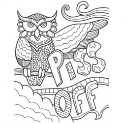 piss off: 50 shades swear word coloring book
