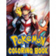 pokemon coloring: An Adorable Coloring Book With High Quality Illustrations Of Pokemon For Relaxation