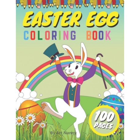 Easter Egg Coloring Book: For Kids Toddlers & Preschoolers Ages 1-4