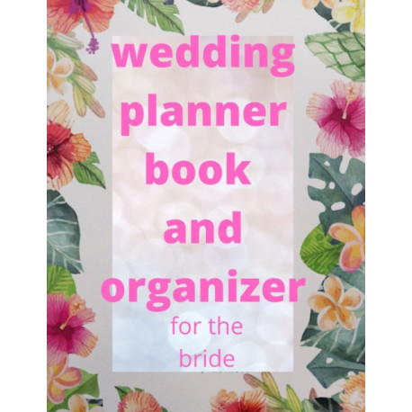 wedding planner book and organizer for the bride