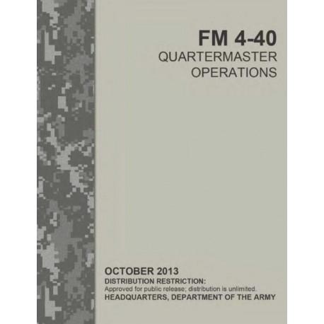 FM 4-40 Quartermaster Operations