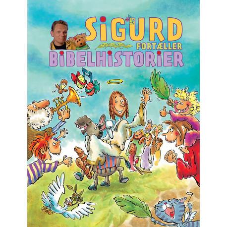 Sigurd fortæller bibelhistorier
