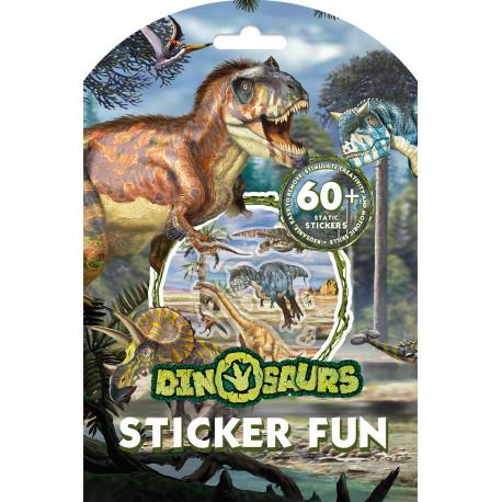 Dinosaurer – Sjov med klistermærker