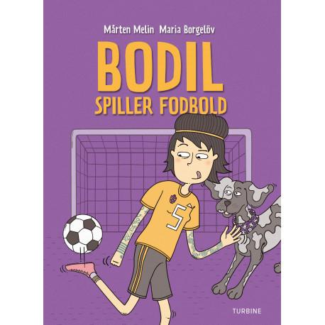 Bodil spiller fodbold