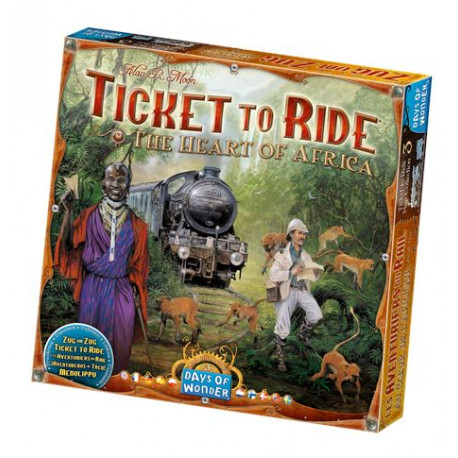 Ticket to Ride - Heart of Africa