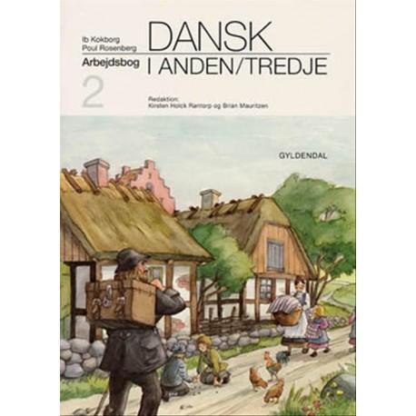 Dansk i anden/tredje: grundbog 2, Arbejdsbog til Grundbog 2