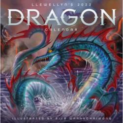 Llewellyn's 2022 Dragon Calendar