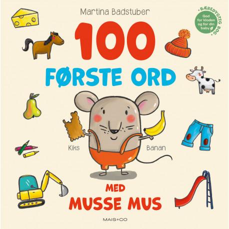 100 første ord med Musse Mus