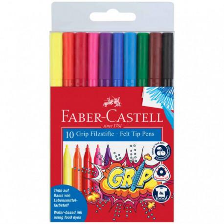 Faber-Castell Felt Tip Pens 10stk
