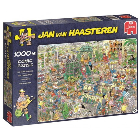 Jan van Haasteren Comic Puzzle - Hockey Championship - 1000 brikker