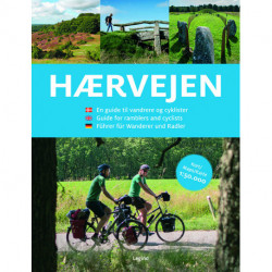 Hærvejen: En guide til vandrere og cyklister – på dansk, engelsk og tysk