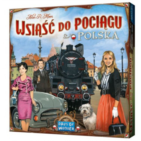 Wsiasc Do Pociacu - Polska - Ticket to Ride