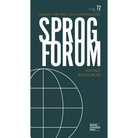 Sprogforum 72: Digitale Ressourcer