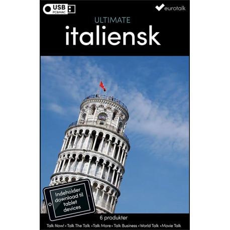 Italiensk samlet kursus USB & download