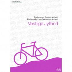 Cykelkort Vestlige Jylland: kort 6