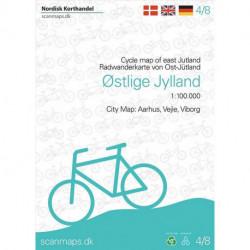 Cykelkort Østlige Jylland: Kort 4