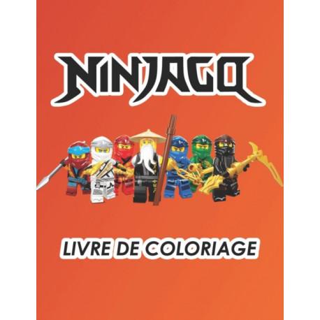 Ninjago livre de coloriage: 50 Fun NINJAGO pages a colorier pour les enfants: Nouveautes et dernieres pages de haute qualite et premium