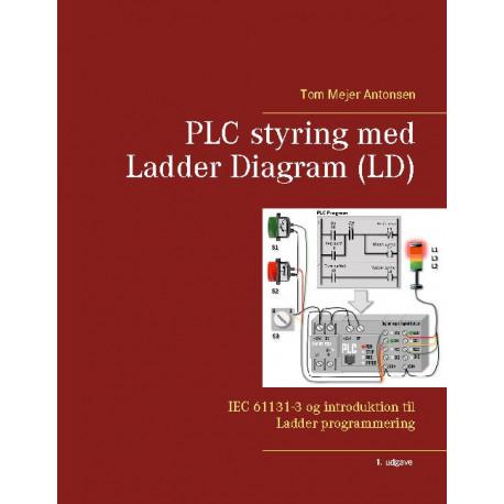 PLC styring med Ladder Diagram (LD): IEC 61131-3 og introduktion til Ladder programmering